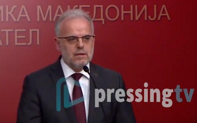 Кабинетот на Џафери за Павле Богоевски: Во овој момент нема основ за каква било постапка
