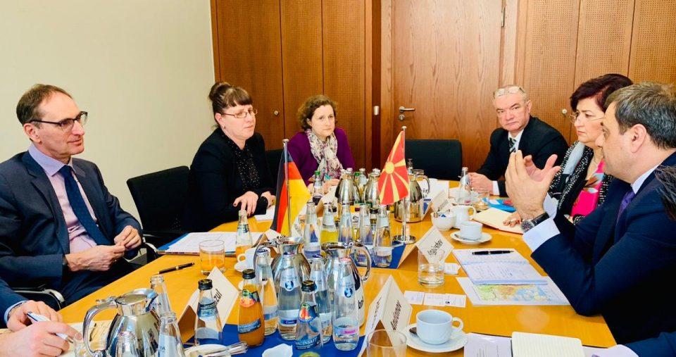 Економскиот советник од Германија ќе дојде на крајот на февруари