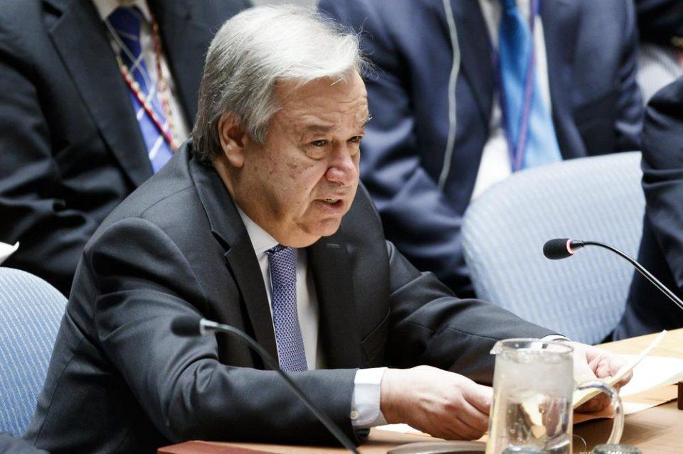 Гутереш апелира на итно смирување на тензиите североисточна Сирија