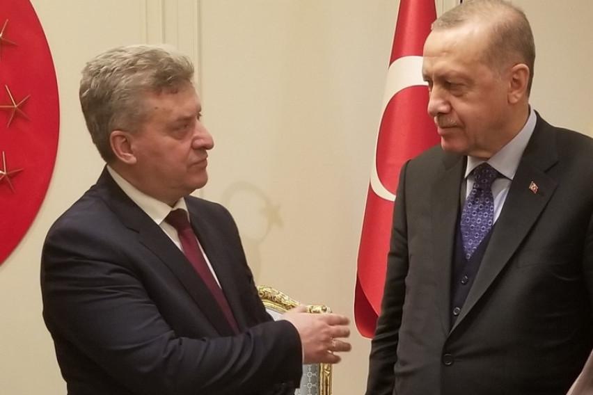 Иванов се сретна со Ердоган