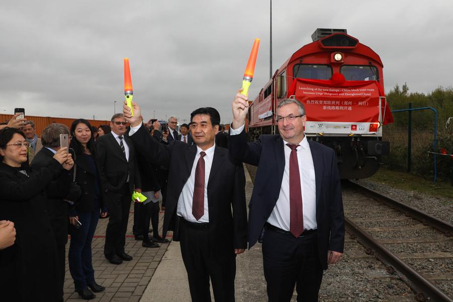 Карго воз тргна од Белгија на пат од 11.000 километри до Кина