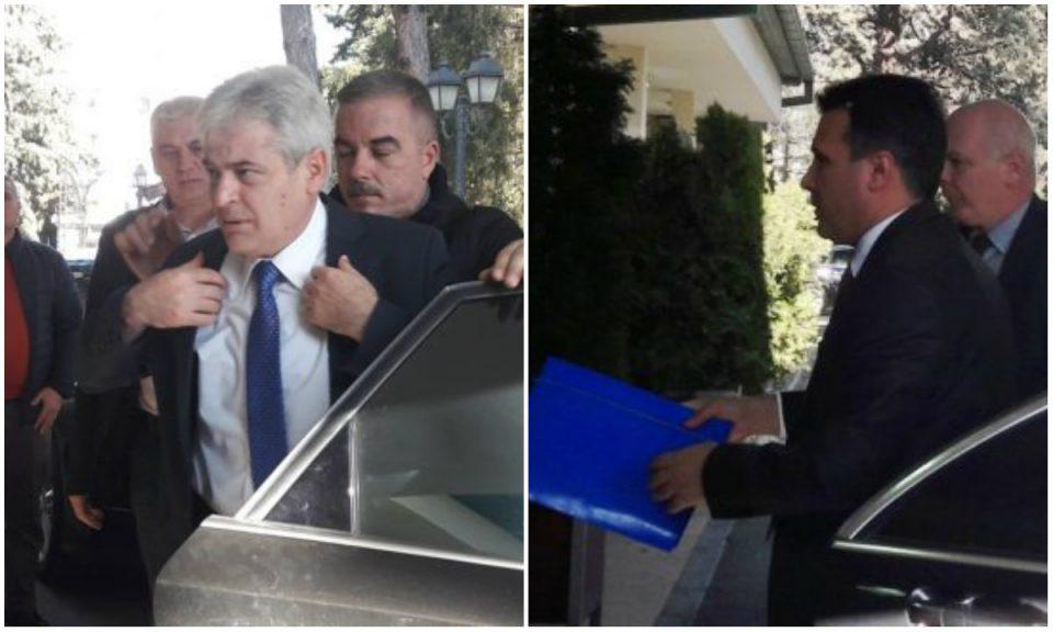 ВМРО-ДПМНЕ бара Заев да одговори за што се разговарало на тајната средба со Ахмети: Дали ќе се исцртуваат нови граници?