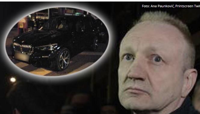 Лидерот на српската опозиција Ѓилас на протести оди во лимузина од 100.000 евра (ФОТО)