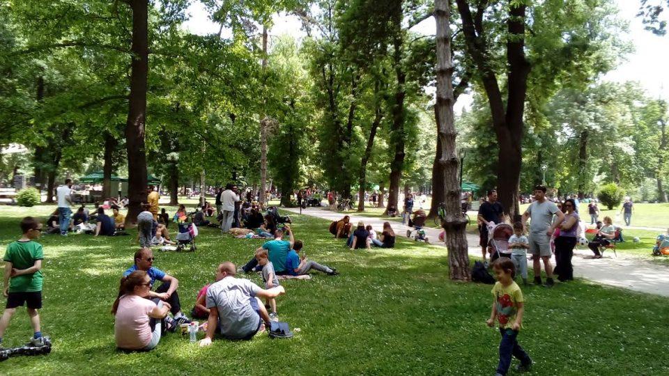 Бесплатно мерење на вкупни масти, шеќер во крвта и притисок во Градски парк