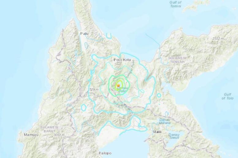 Два силни земјотреси во Индонезија