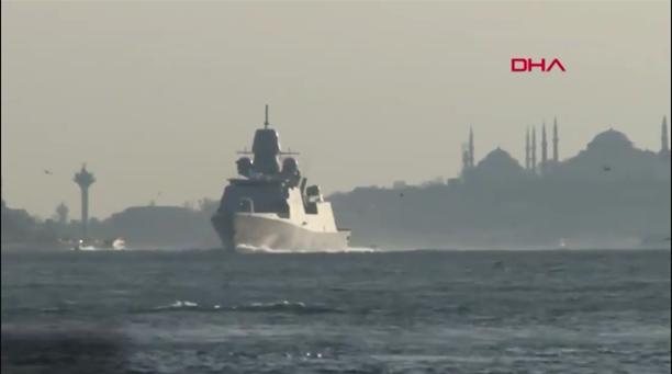 Воени бродови на НАТО влегоа во Црно Море, руската морнарица будно ги следи