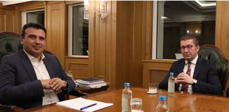 Заев и Мицкоски денеска по консензус за изборниот законик и пописот