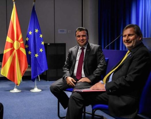 Во Виена: Средба Заев-Хан
