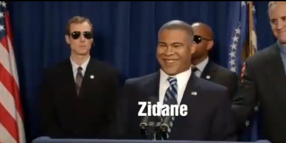 Пресмешна пародија на првиот ден на Зинедин Зидан по враќањето во Реал Мадрид (ВИДЕО)