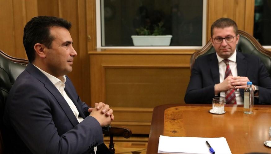 Мицкоски бара од Заев да се донесе резолуција за заштита на македонскиот јазик