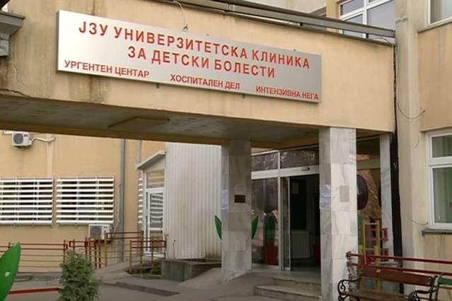 Децата оставени во возило ќе бидат пуштени од Детската клиника