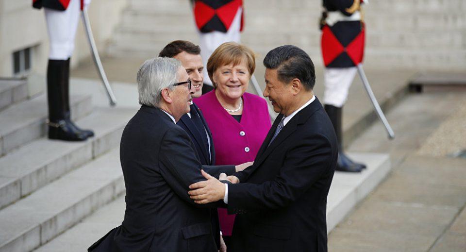 """Меркел бара реципроцитет во кинескиот проект """"Патот на свилата"""""""