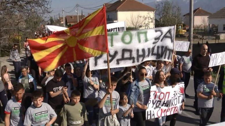 Граѓани рекоа стоп за рудникот на смртта во Иловица-Штука