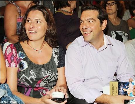 Ципрас и Перистера се заедно 20 години, не се венчани и имаат две деца (ФОТО)