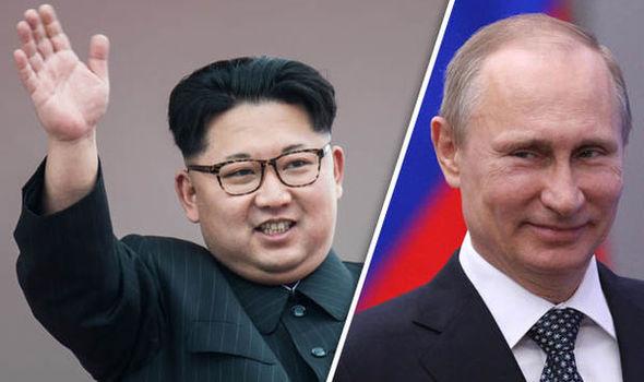 Ким тргна кон Владивосток на состанок со Путин (ФОТО)