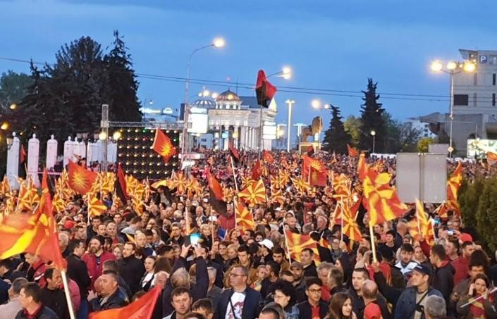Мицкоски: ВМРО-ДПМНЕ со народот утре излегува на улица
