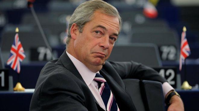 На европски избори во Англија Фараж ќе ја растури Меј