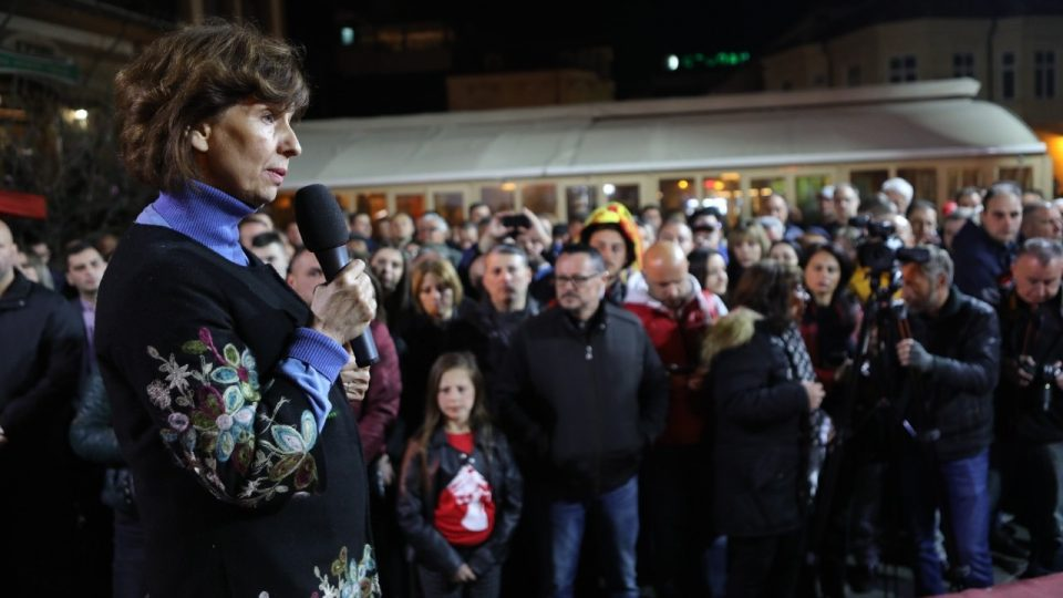 Силјановска: Крајот на власта е на повидок, а победата веќе е на дофат