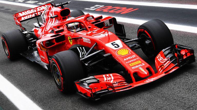 Ферари со посилен мотор за шпанското Гранд при (ВИДЕО)