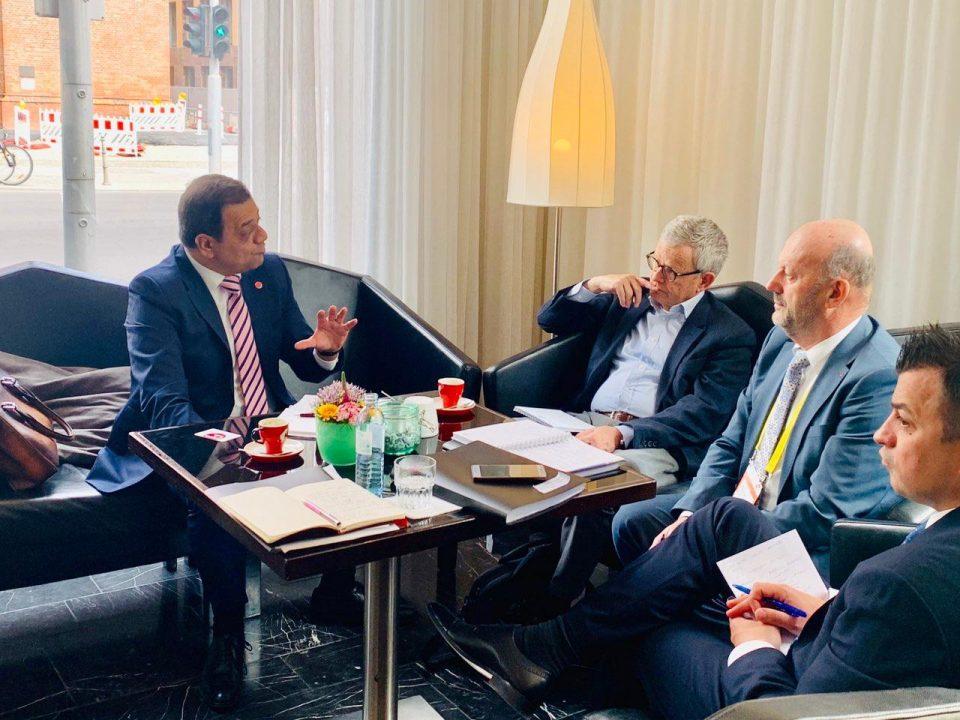 Анѓушев:Работиме посветено да ја унапредиме меѓусебната економска соработка со Германија