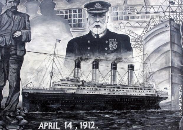 Титаник не потонал поради ударот во ледената санта?