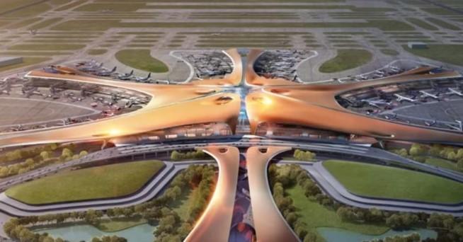 Кина го гради најголемиот аеродром во светот, колку сто фудбалски игралишта (ВИДЕО)