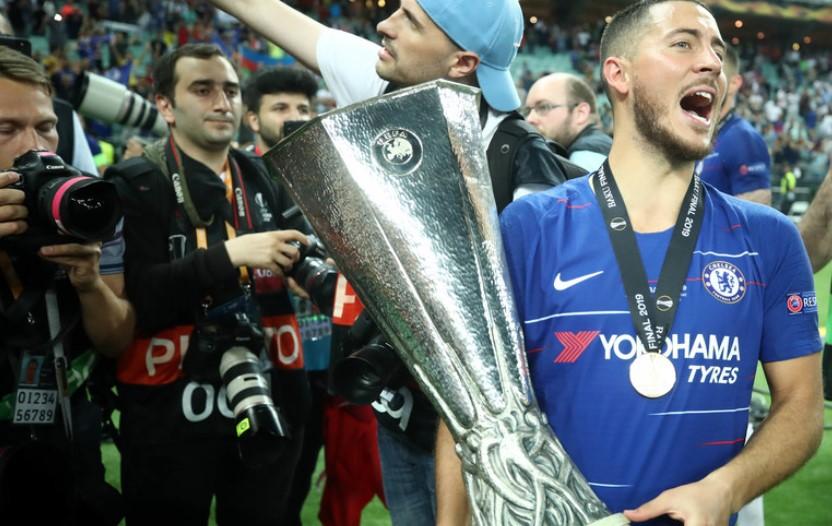 Со трофејот во Лига Европа, Челзи ја спаси сезоната (ВИДЕО)