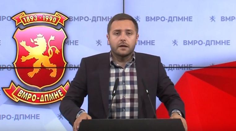 Арсовски: Царовска да не молчи за скандалот со тендерите на нејзиниот маж