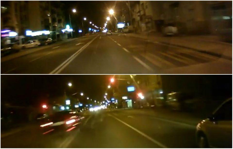 Брзи и бесни: Како се вози низ Ѓорче Петров (ВИДЕО)
