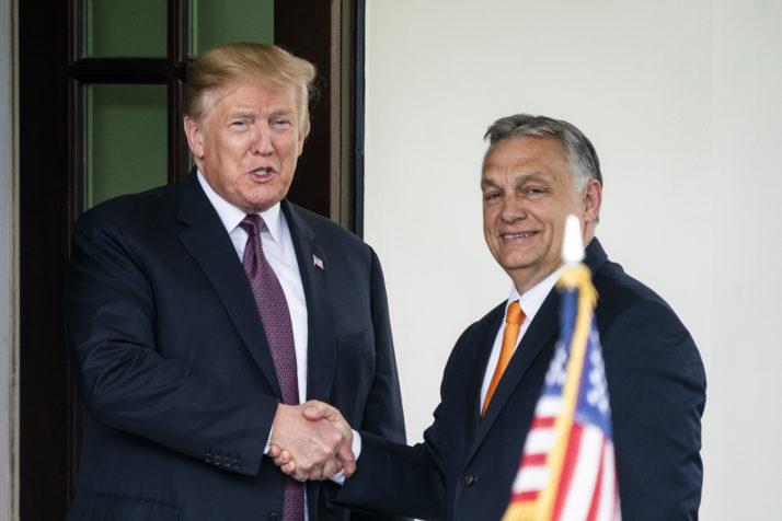 Средба Трамп-Орбан: Глобалните политички прашања во фокусот