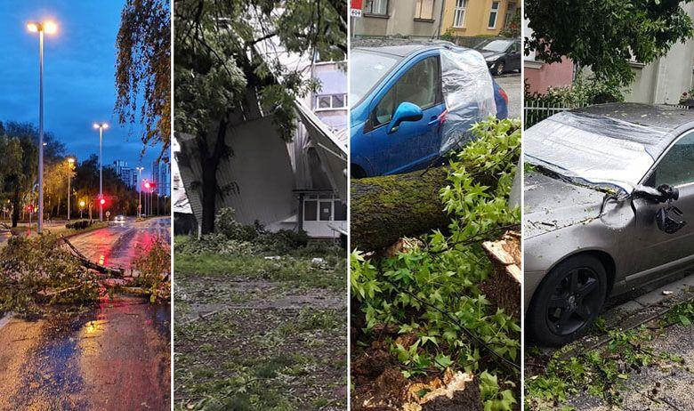 Загреб се разбуди со тревога од прв степен по страшната ноќна бура