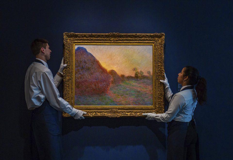 Рекорд: Слика на Моне продадена за 110,7 милиони долари