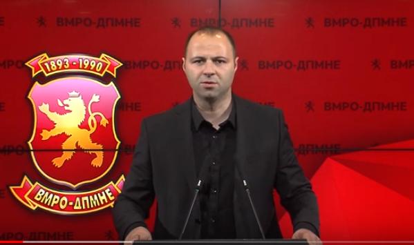 ВМРО-ДПМНЕ: Заев да ги следи европските вредности и да си поднесе оставка