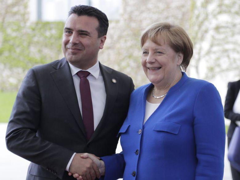 Заев: Меркел е голем пријател на Северна Македонија