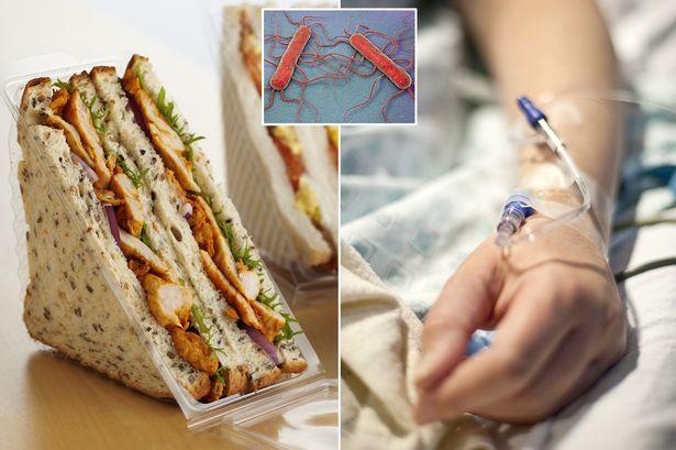 Петмина починати во Велика Британија откако јаделе болнички сендвичи