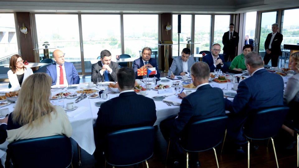 Чешка и Македонија да ја зголемат соработката во делот на економијата
