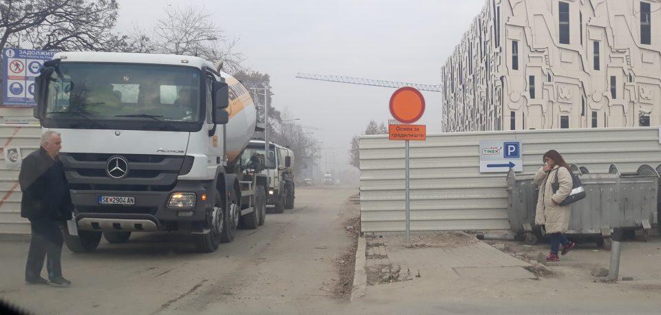Фирмата која гради кај Јужен булевар е најмалку пет пати казнувана заради загадување