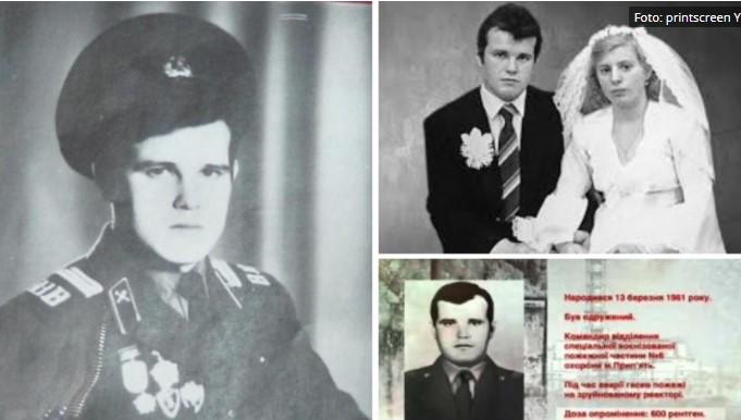 Ова е вистинскиот херој од Чернобил: Пожарникарот бил радиоктивен и по смртта, па го затвориле во метален сандак (ФОТО)