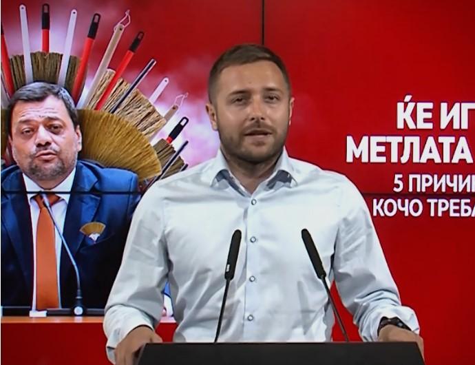 Aрсовски: Чулев добро си ја работи работата и СДСМ се исплашени