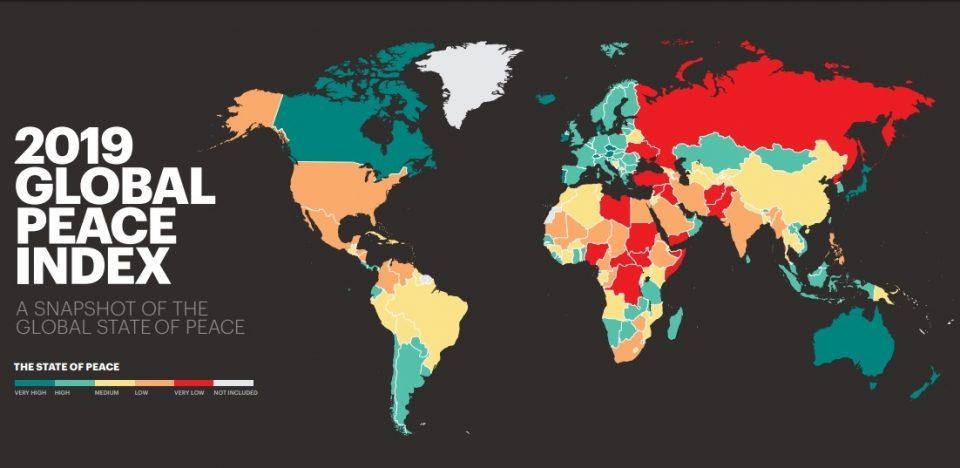 Македонија 65. најмирна земја во светот