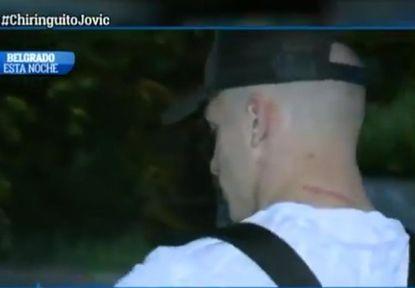 """Еуфорија во Мадрид: Лука Јовиќ пристигна меѓу """"Кралевите"""" (ВИДЕО)"""