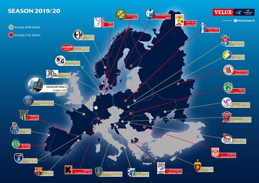 Лигата на шампиони ќе врие од фаворити, Македонија со двајца учесници (ФОТО)