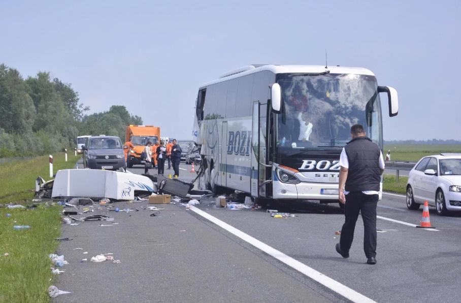 Детали за сообраќајката во која загина македонски камионџија во Хрватска (ФОТО)