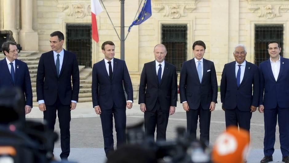 Лидерите на седум земји од јужна Европа со предупредување до Турција поради Кипар