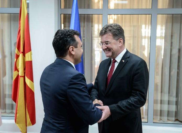 Средба Заев-Лајчак: Договорот од Преспа е фокусиран на иднината, не на минатото