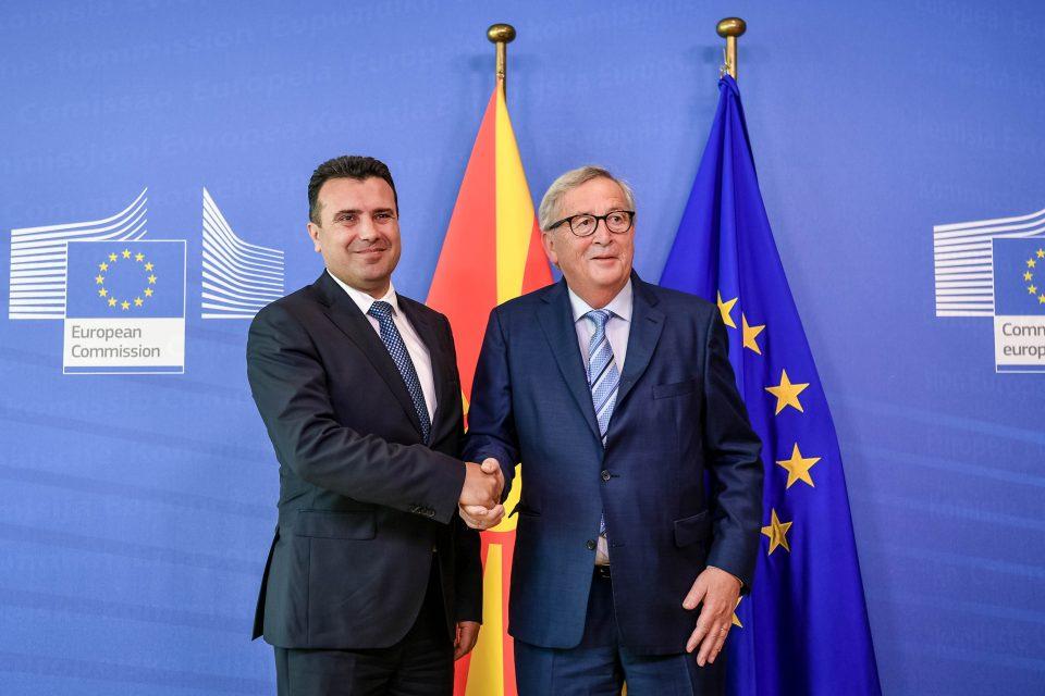 ВМРО-ДПМНЕ: Европската унија го виде вистинското лице на Заев