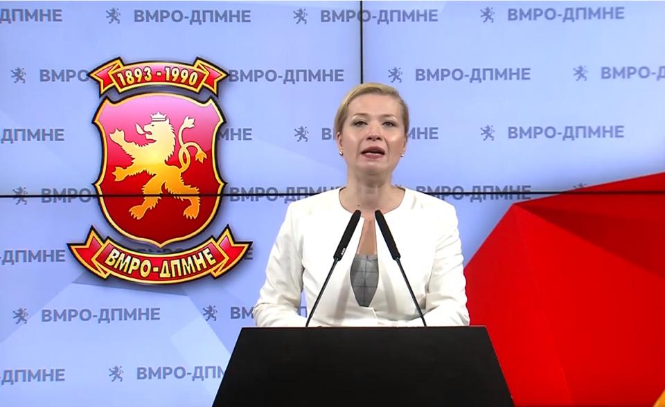 Иванка Василевска: Пратениците на СДСМ денес не се појавија на закажаната комисија и го покажаа својот однос кон основните човекови права и слободи