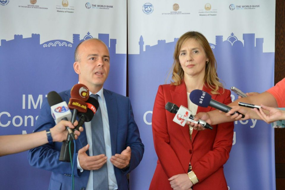 Тевдовски: Приходите во буџетот за првите пет месеци се зголемени за 6,6 отсто