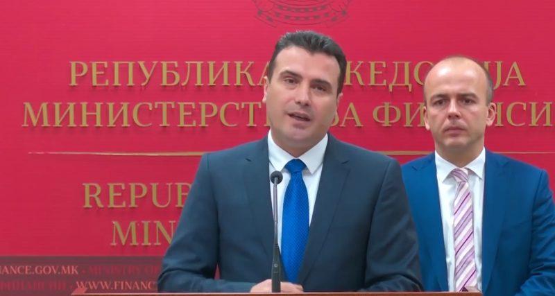 Заев: Петар Атанасов си даде оставка зошто не стана министер