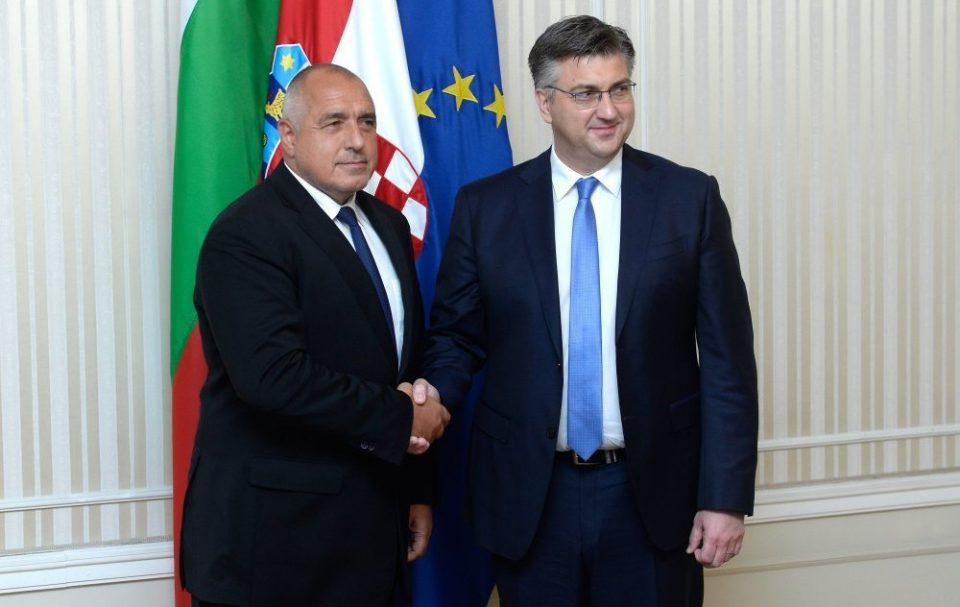 Борисов го предлага хрватскиот премиер за претседател на ЕК